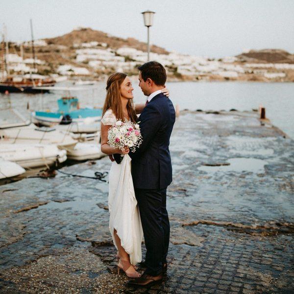 Mykonos.. Anna and Chris