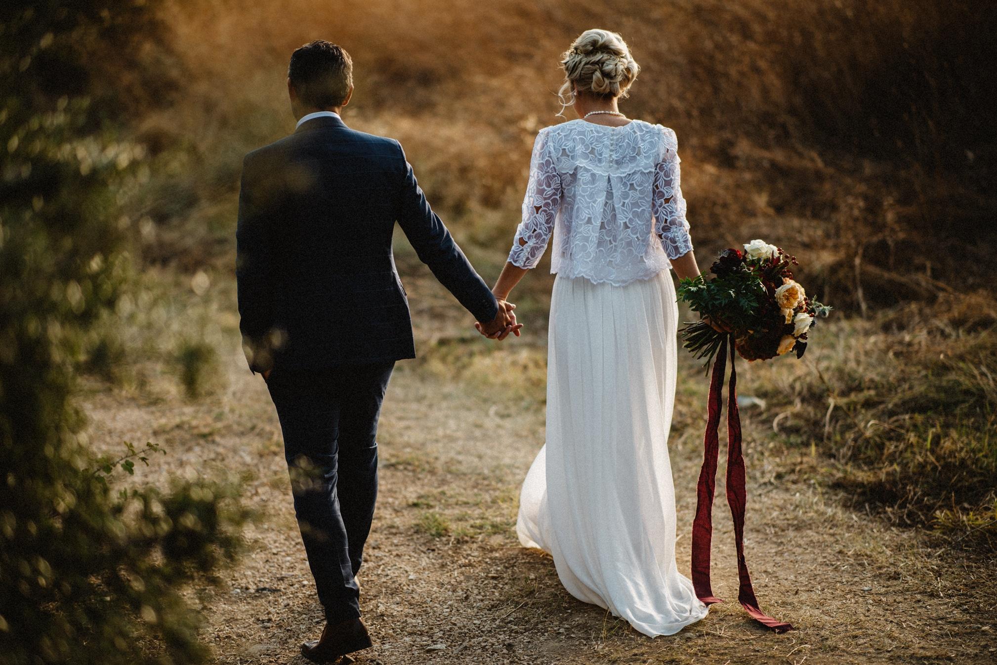 Royal Peter and autumn wedding photos